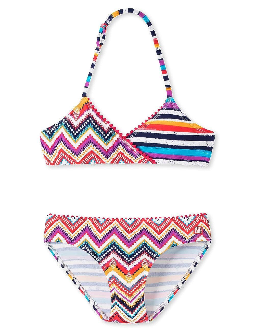 Conjunto de ba/ño para Ni/ñas Schiesser Aqua Triangel-Bikini