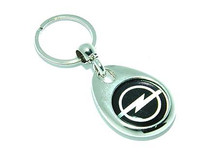Llavero (metal) de Auto-badges, diseño con logotipo de Opel ...