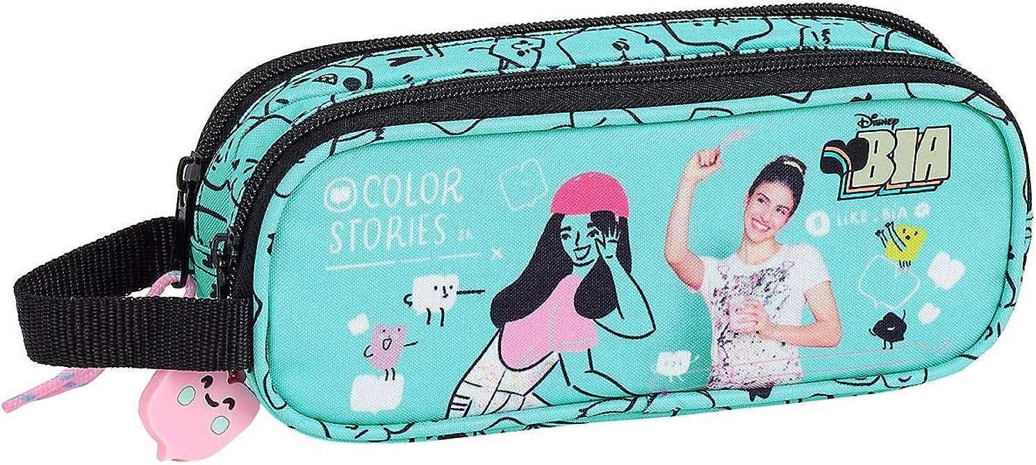 Safta Estuche Escolar de Bia Kids Luggage, Unisex-Child: Amazon.es: Ropa y accesorios