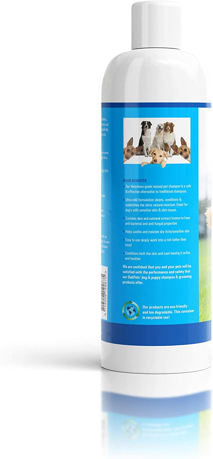 Natural Dog-Shampoo & Conditioner. Anti-Bacterial-Anti-Fungal-Anti ...