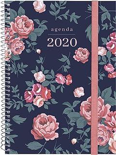 Finocam - Agenda 2020 1 día página DuoGlam Rosa catalán ...