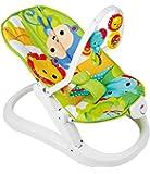 Baby Gear Fisher-Price CMR20 - Sdraietta Pieghevole Cuccioli della Natura, Multicolore