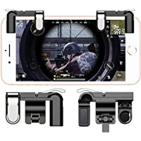 teczon Mobile Game Controller L1R1 Sharpshooter Aiming Triggers for PUBG/Fornite/ Knives Out/Rules of Survival, Fits for…