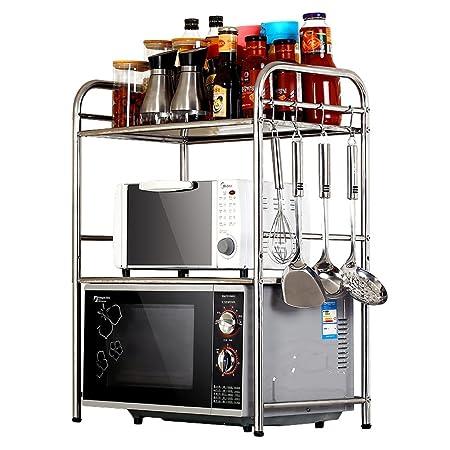 Guo Shop- Estantería de Cocina Horno microondas Utensilios ...