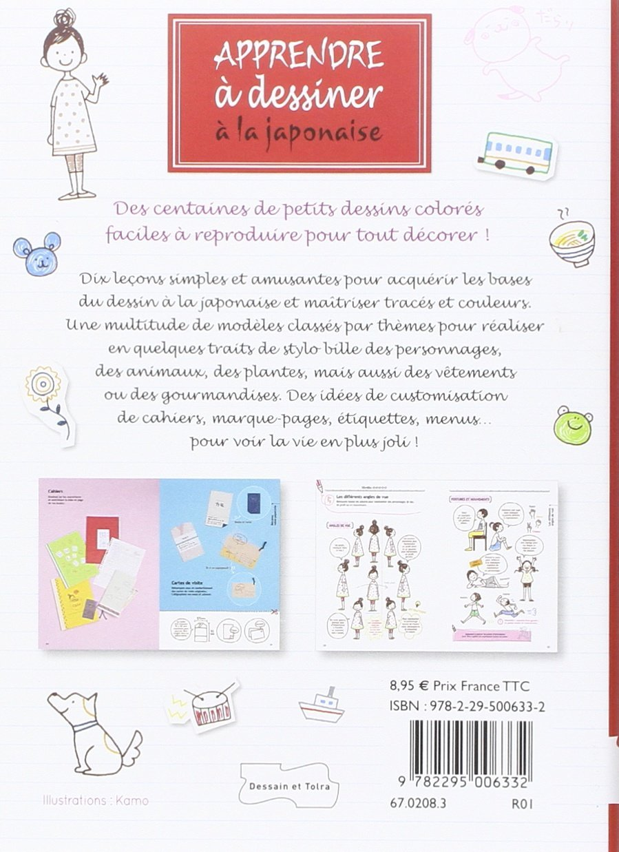 Amazonfr Apprendre à Dessiner à La Japonaise Kamo Livres