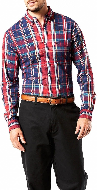 dockers Weathered Oxford Camisa para Hombre: Amazon.es: Ropa y accesorios