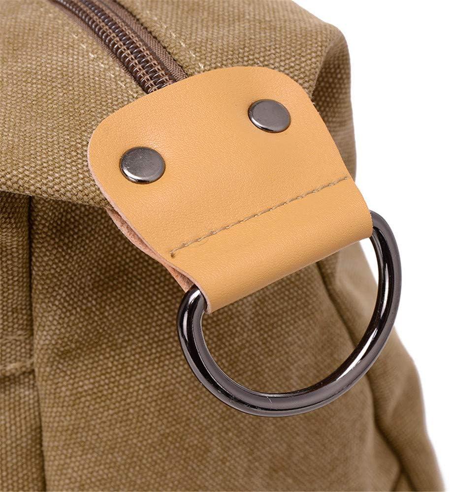 Color : Brown Jaiconfiance Men Leather Briefcase Detachable Shoulder Strap Mens Casual Business Multi-Layer Leather Handbag Shoulder Bag Daily Work Bag Men Vintage Leather Messenger Bag