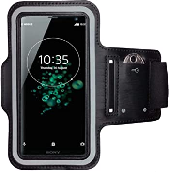 CoverKingz - Brazalete Deportivo para Sony Xperia XZ3, con Compartimento para Llaves, Color Negro: Amazon.es: Electrónica