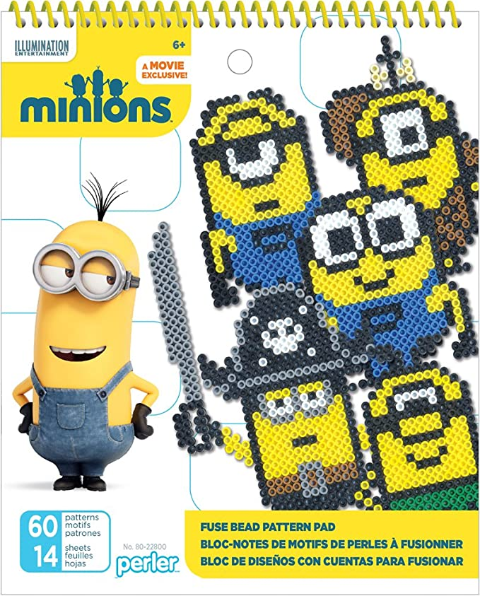 Perler Minions Fused Bead Idea Book