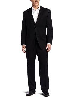81aed842c Jones New York Men s Classic-Fit Black Solid Suit