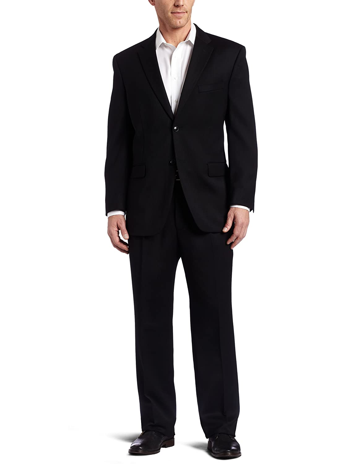 Jones New York Men's Rubin 2 Button Side Vent Suit with Single Pleated Pant Jones New York Tailored 52001