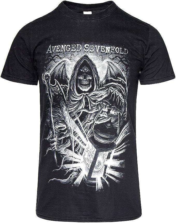 Avenged Sevenfold - Camiseta - manga 3/4 - para hombre