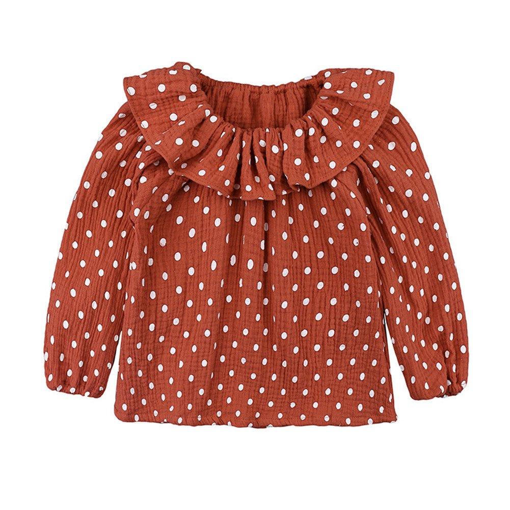 LOOLY Baby Girls Cotton Linen Blend Long Sleeve
