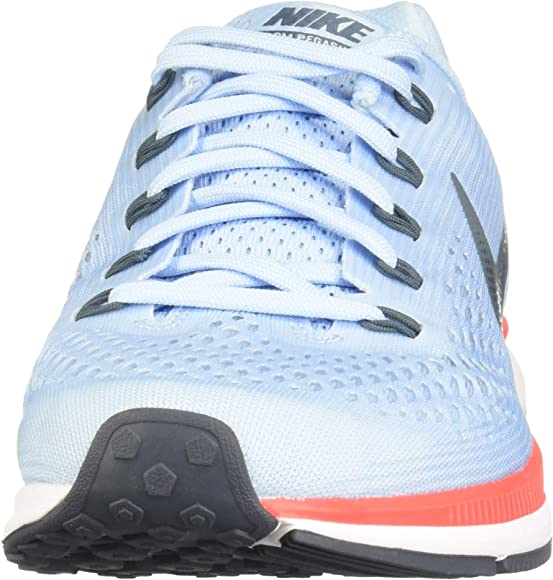 6ba89b286d82d Men's Air Zoom Pegasus 34 Running Shoe Ice Blue/Blue Fox (10 D US)
