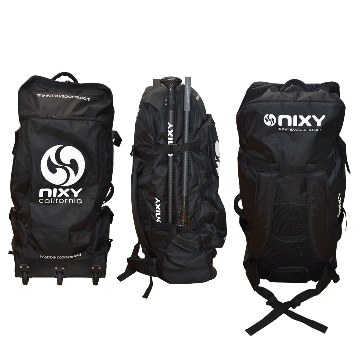 NIXY Inflatable Paddle Board Carrying Backpack