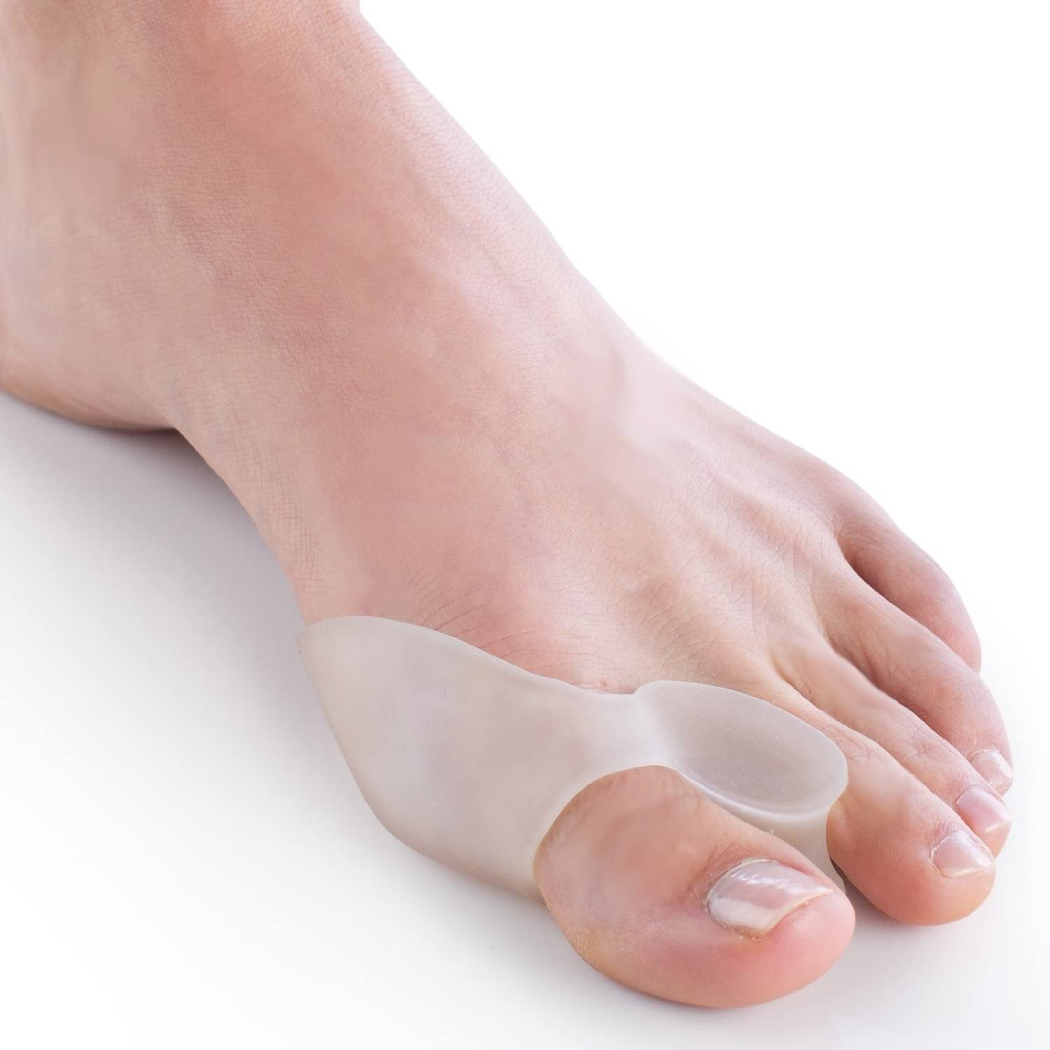 SPREADER PAIN REL. COMBINATION SILICONE GEL BUNION PROTECTOR AND TOE SEPARATOR