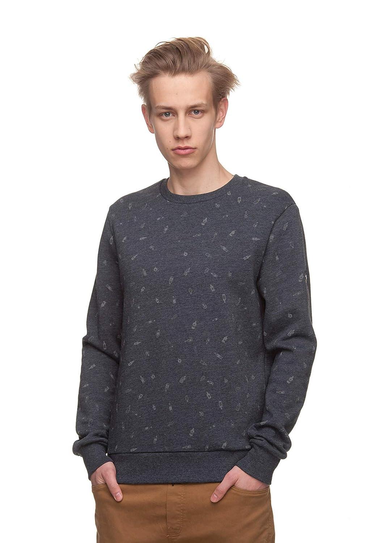 Ragwear Herren Sweater Ramon Bottles 1822-30002 Dunkelblau Navy 2028