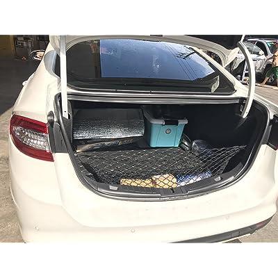 kaungka Cargo Net Nylon Rear Trunk for 2013 2014 2015 2016 2020 2020 Ford Fusion: Automotive