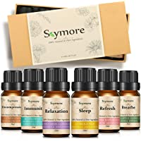 Skymore 6pcs Essential Oils Gift Set,Aromatherapy Essential Oil for Diffuser,100% Pure & Natural Ingredients,Therapeutic Grade Oils,Humidifier Oils,Best Gift for Her
