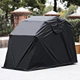 Mophorn Motorcycle Shelter Shed Strong Frame Motorbike Garage Waterproof 106.5 Inch X41.5 Inch X61 Inch Motorbike Cover Tent