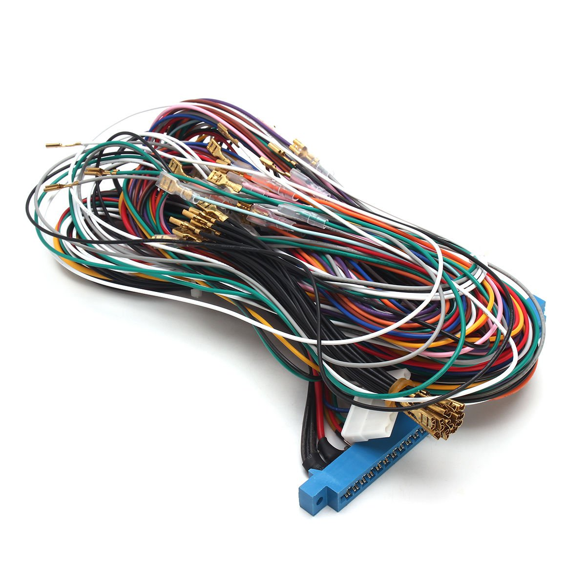 28 Pins Jamma Harness Cabinet Wire Wiring Loom For 7 Pin Difference Arcade Game Pcb Video Board By Atomic Market Toys Games