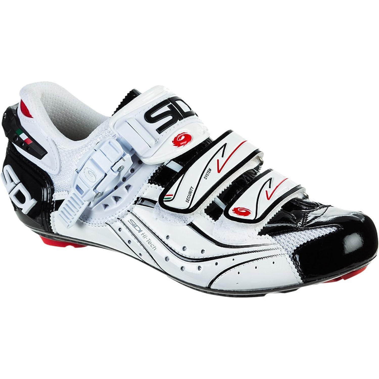 Amazon.com | Sidi Genius 6.6 Vent Carbon Shoes Black Vernice/White ...