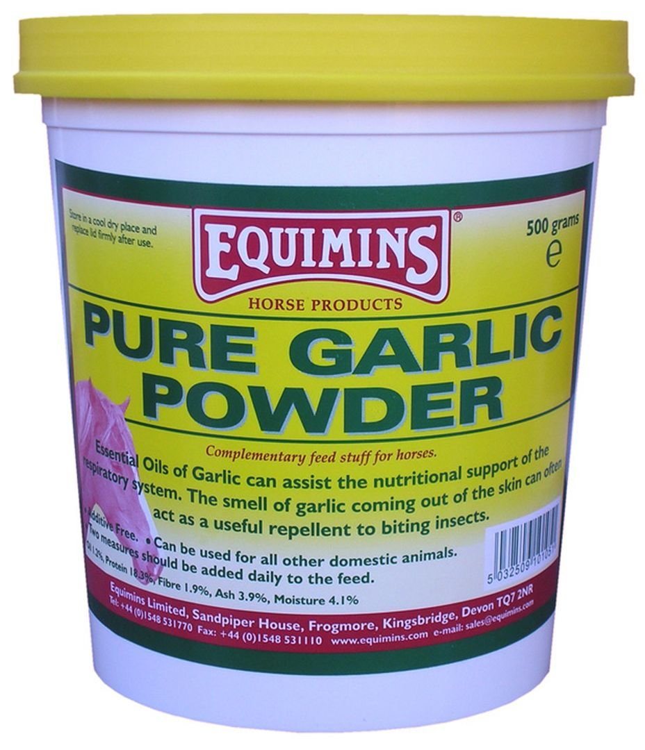 Equimins - Equimins Garlic Powder 500g Tub SportsCentre EQS0290