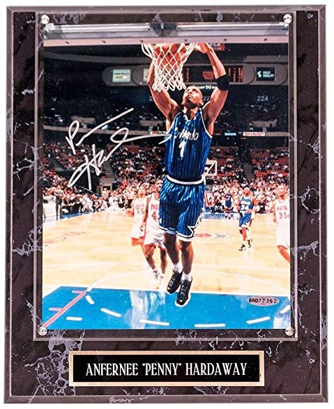 Anfernee penny hardaway autographed orlando magic 8x10 anfernee quotpennyquot hardaway autographed orlando magic 8x10 photograph plaque upper sciox Gallery