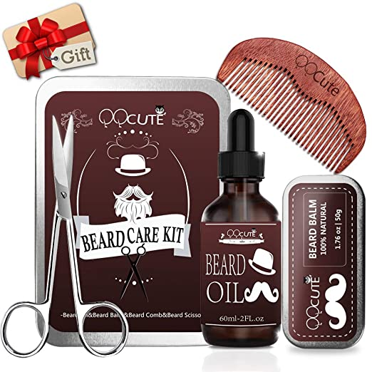 Beard Care Kit Set For Men Birthday Gifts Presents Leave In Conditioner