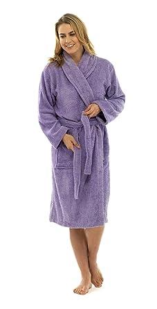 Lora Dora Womens Pure 100% Cotton Luxury Terry Towelling Bath ...