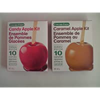 Concord Foods Candy Apple kit & Caramel Apple Kit Variety Pack (1 Box Each)