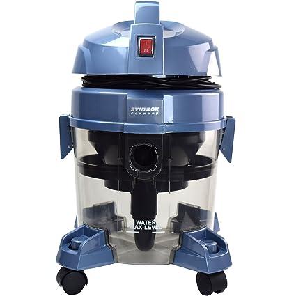 Syntrox Germany - WVC QMS-2400 W Okeanos Aspiradora con filtro de agua seco y