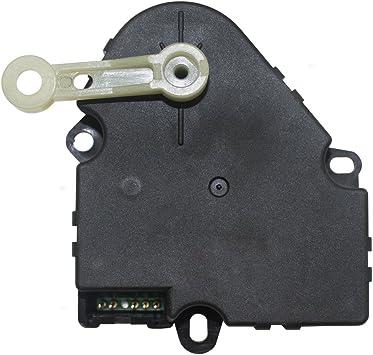 Amazon Com Hvac Heater A C Air Door Actuator Temperature Blend Lever Replacement For Cadillac 96 99 Deville 96 02 Eldorado 96 97 Seville 16180230 Automotive