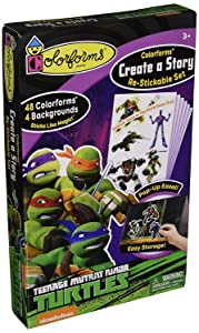 Colorforms Stickers (TMNT Create A Story)