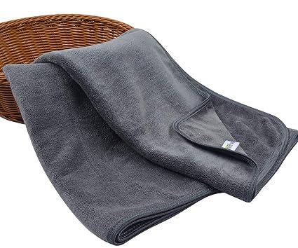 KinHwa Toallas de baño Microfibra Toallas de Manos Uso multipropósito para baño, Manos, Cara