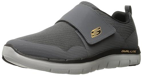 Skechers 52183, Zapatillas con Velcro Hombre: Amazon.es: Zapatos y complementos
