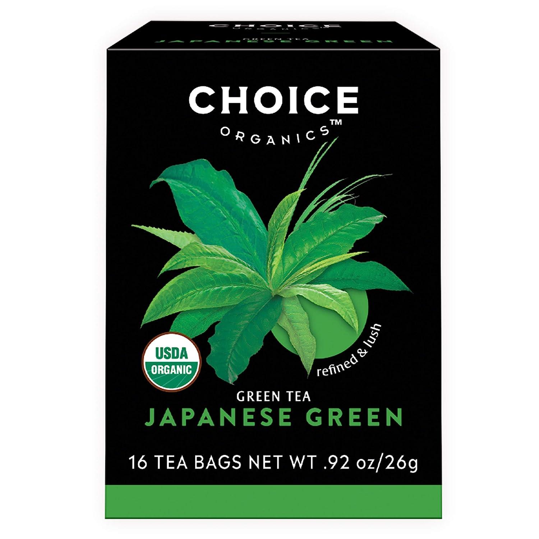 Choice Organics – Organic Japanese Green Tea (6 Pack) – Organic Green Tea – 96 Tea Bags