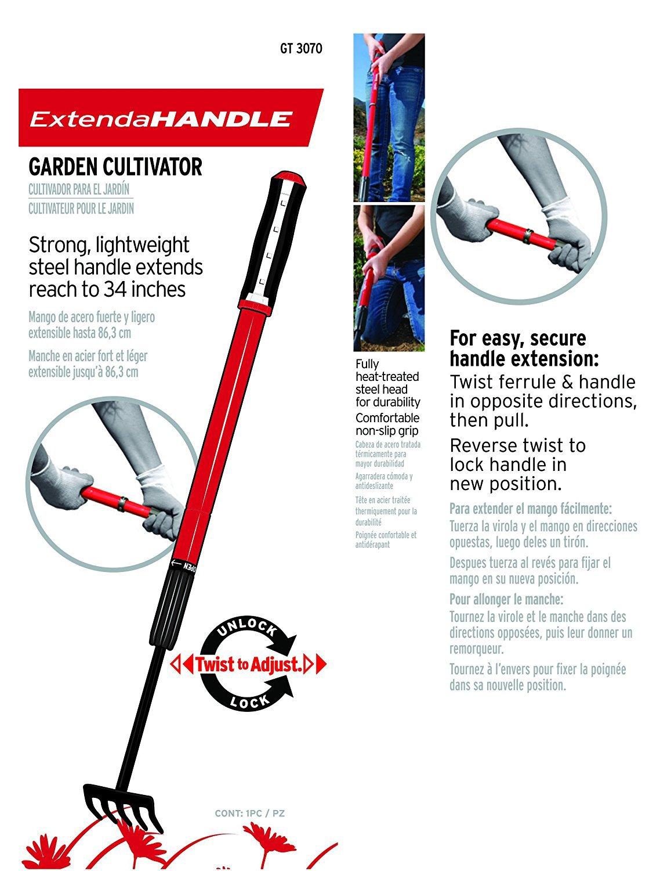Corona GT 3070 Extendable Handle Cultivator