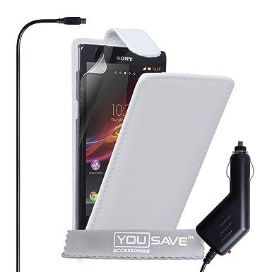 Sony Xperia Z funda y cargador, compatible con Sony Xperia Z ...