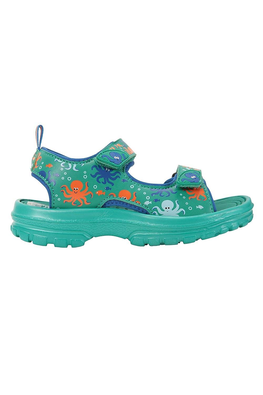 durables Mountain Warehouse Sandales pour Enfants Sand lani/ère de Talon Amovible Chaussures de Plage Doublure n/éopr/ène pour Marcher /à la Plage Scratch