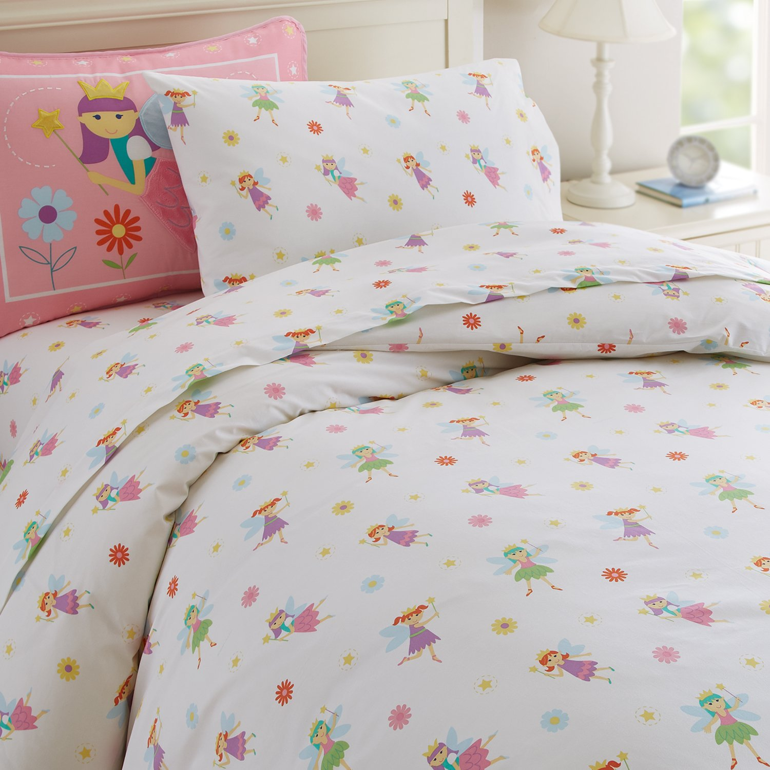 amazoncom olive kids fairy princess twin duvet cover toys  games -