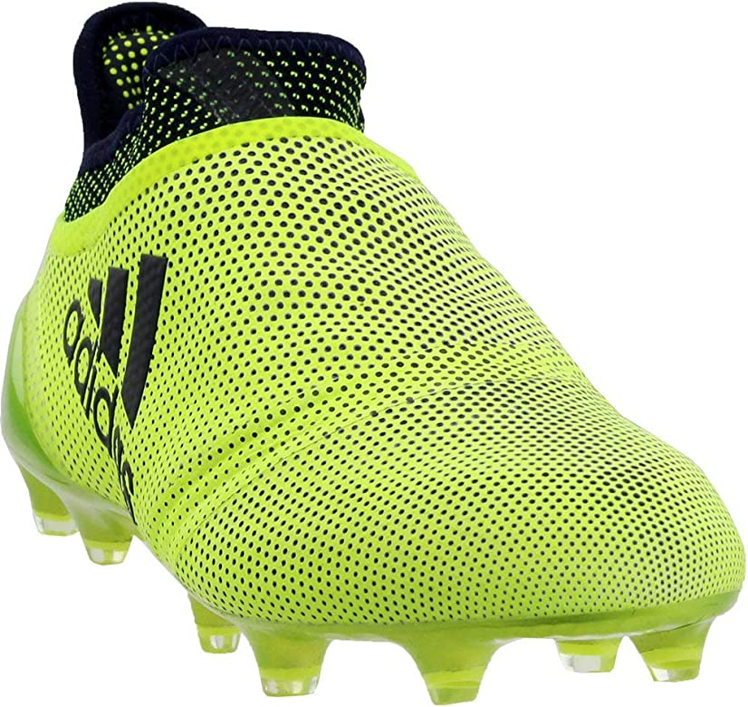 official photos 4d513 5113c Mens X 17+ Purespeed Firm Ground Soccer Casual Cleats, Yellow, 7.5