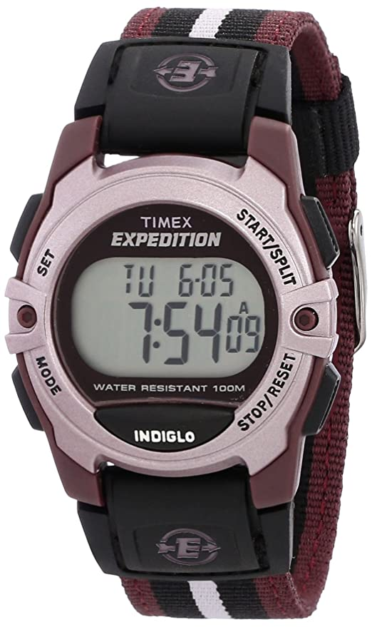 Amazon.com: Timex Expedition Digital Chrono Alarm Timer 33mm Watch: Watches