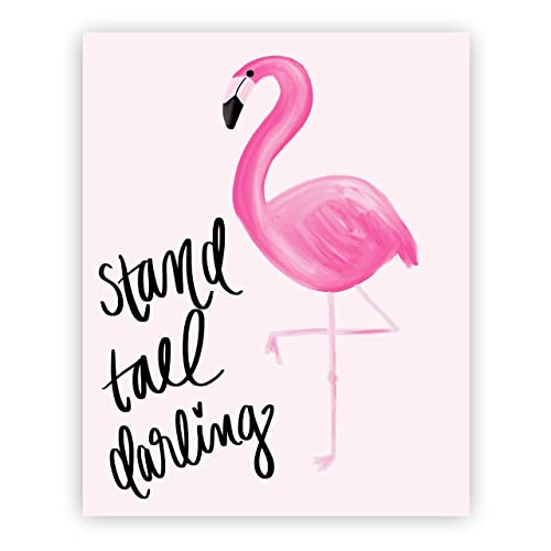 Amazon Stand Tall Darling Print Art Motivational Quotes