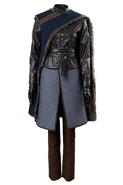 Amazon.com: Cosplaysky Game of Thrones Costume Season 8 Arya ...