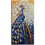 Amazon com: Peacock Canvas Art Prints, Peacock Canvas Wall