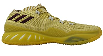size 40 0f286 07a80 adidas Crazy Explosive Primeknit Low TAM Shoe Mens Basketball 10 Yellow -White-Maroon