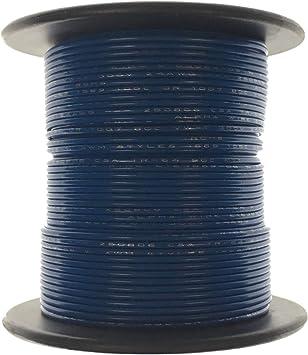 BLACK 22 AWG Gauge Stranded Hook Up Wire Kit 100 FT REEL UL1007 300 Volt