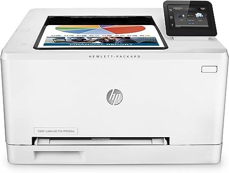 HP Color LaserJet Pro M252dw - Impresora láser (B/N 18 PPM, color ...