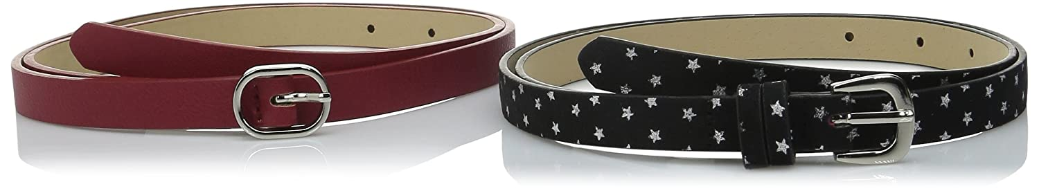 Luv Betsey by Betsey Women's Two For One Belt with Stars